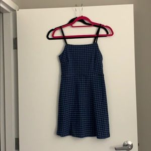 Mini dress checkered from Urban